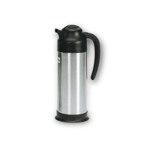Black and Stainless Steel Carafe